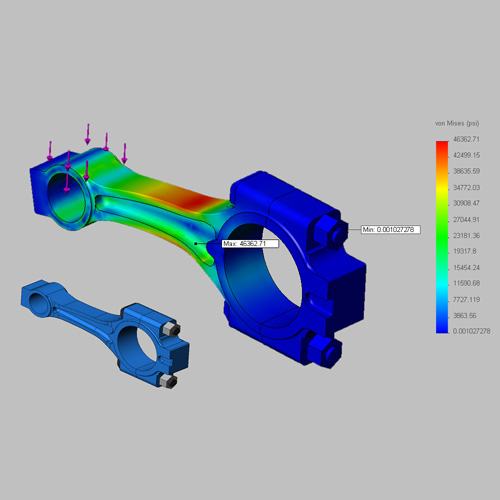 Finite element analysis computer aided design for Finite elemente analyse